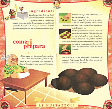I tovaglioli della Zia Tetta - mustazzoli