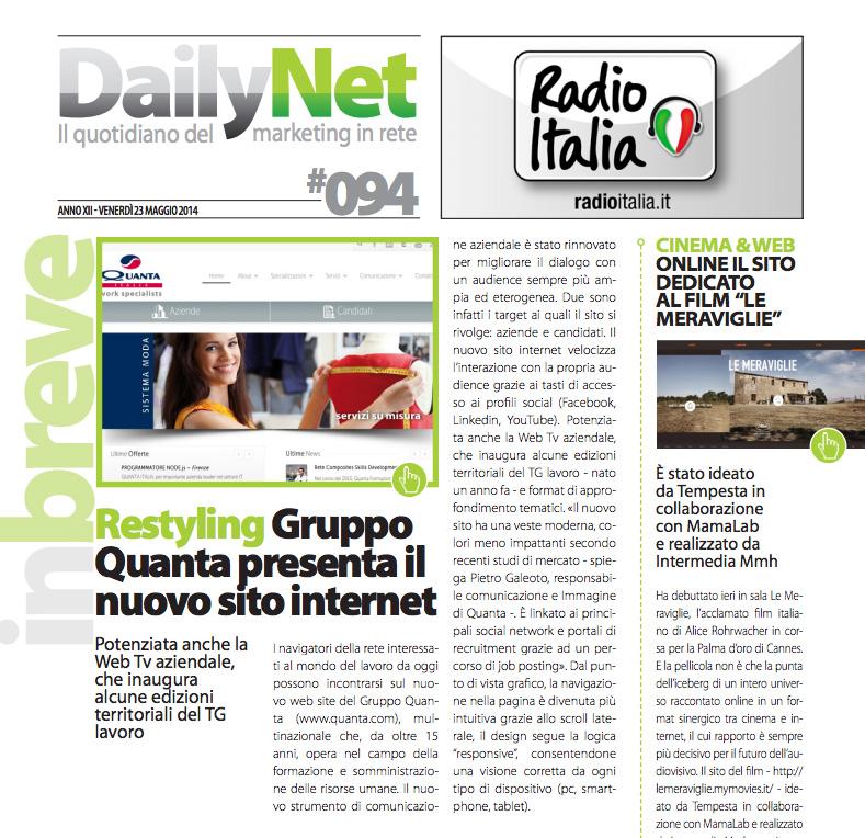 Articolo Pietro Galeoto
