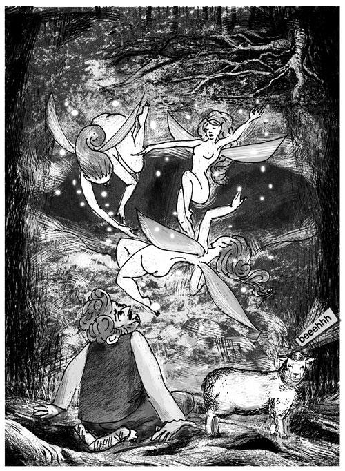 Illustrazioni Pietro Galeoto: SALVE - L'oro di tutti